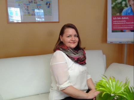 Frau Graßhoff, Bürokraft und Außendienst