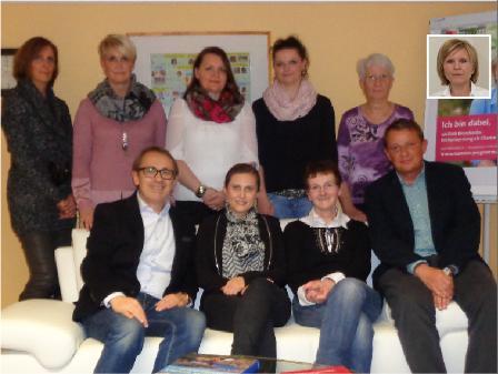 Programmverantwortlicher Arzt und Mitarbeiterteam Mammographie-Screening-Niedersachsen Ost