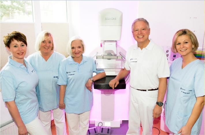 Das Team der Mammographie-Screening-Einheit Goslar.