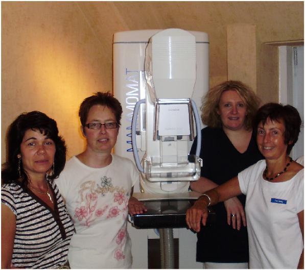 Das Team der Mammographie-Screening-Einheit Braunschweig.