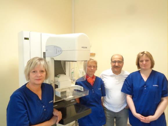 Das Team der Mammographie-Screening-Einheit Peine