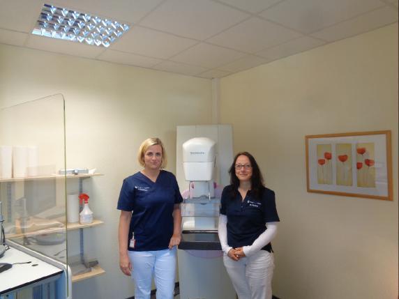 Das Team der Mammographie-Screening-Einheit Wolfenbüttel.