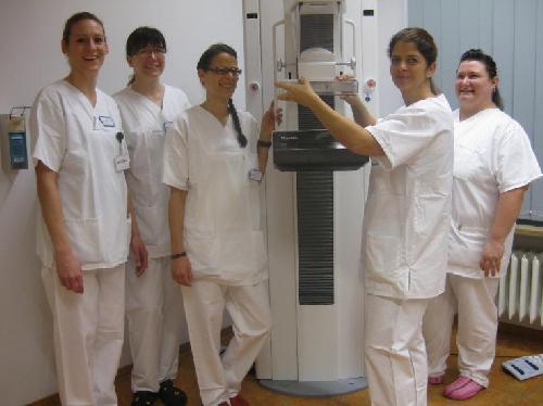 Das Team der Mammographie-Screening-Einheit Wolfsburg.