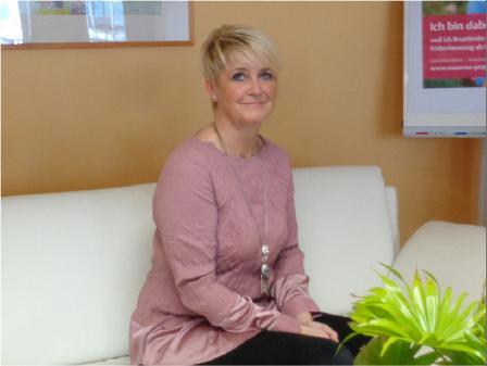 Frau Rudolph, Bürokraft und Arzthelferin