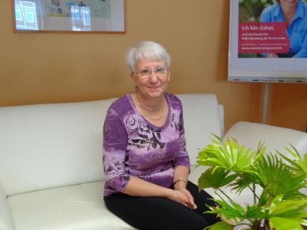 Frau Szalies, Büroleiterin